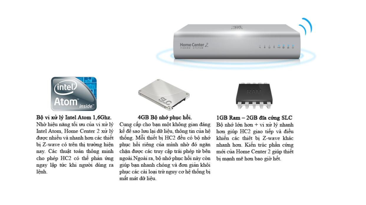 Bộ phần cứng trung tính HC2 nhà thông minh thông minh