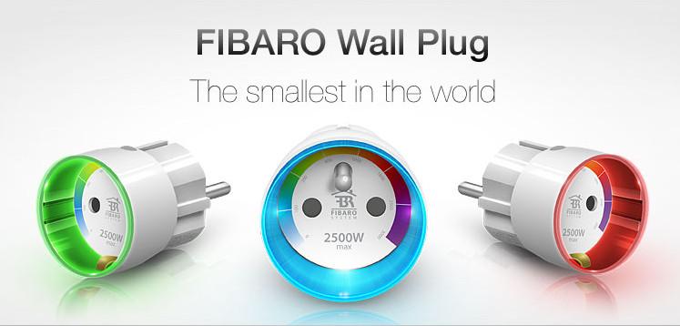 Ổ cắm điện thông minh Fibaro - FGWPF - 102 - wall plug